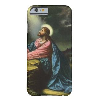 Religião do vintage, Jesus Cristo que Praying, Capa Barely There Para iPhone 6