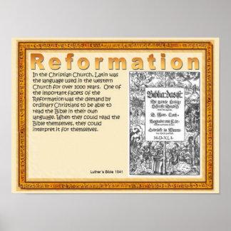 Religião, escritura, cristandade, reforma posters