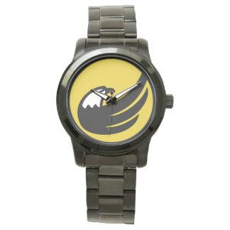 Relógio americano de Eagle EUA da tocha do partido