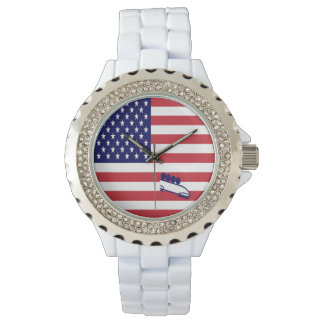 Relógio Bobsled EUA da equipe