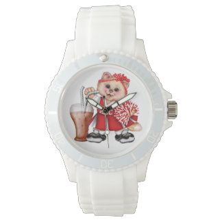 Relógio BONITO do eWatch do CHEERLEADER do CAT