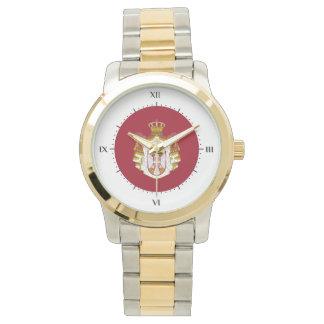 Relógio Brasão sérvio