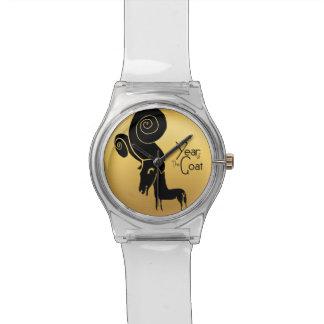 Relógio chinês do zodíaco do ano dos carneiros ou