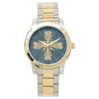 Relógio Cruz da jóia