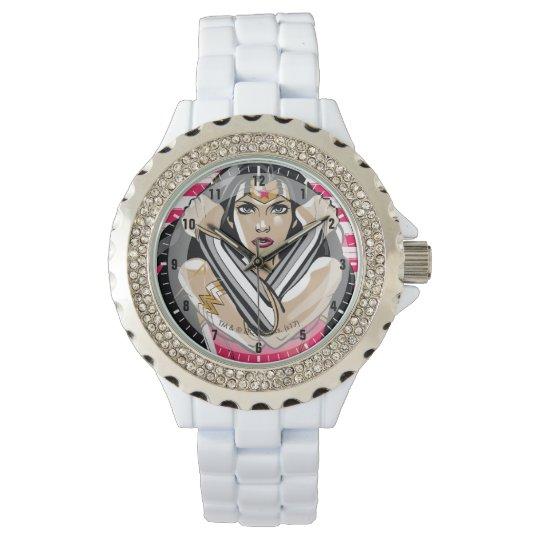 ae90648c547 Relógio De Pulso A mulher maravilha defende - o modelo
