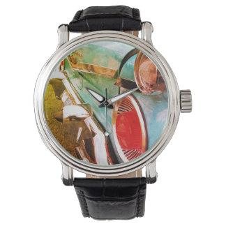 Relógio De Pulso Carro azul clássico