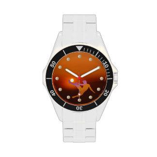 Relógio de pulso do futebol de Sun