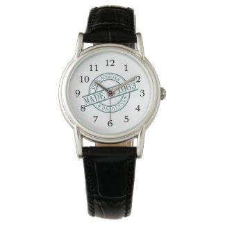 Relógio De Pulso Em 1963 senhoras feitas do logotipo do estilo do
