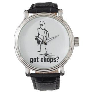 Relógio De Pulso Figura costeletas obtidas da vara do jogador de