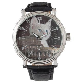 Relógio De Pulso Gatos romanos