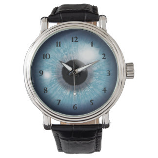 Relógio De Pulso Globo ocular azul