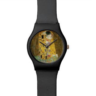 Relogio De Pulso Gustavo Klimt a pintura de Nouveau da arte do