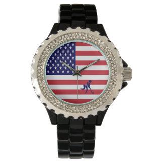 Relógio De Pulso Hóquei em gelo EUA da equipe