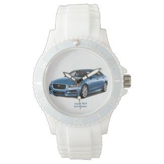 Relógio De Pulso Imagem 2017 do carro para o silicone branco