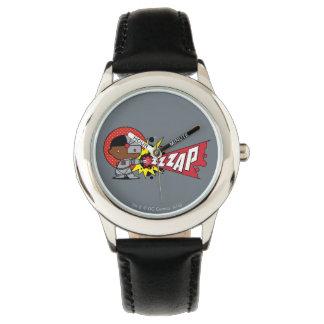 Relógio De Pulso O canhão Cybernetic do Cyborg de Chibi