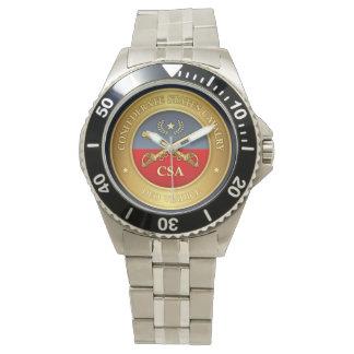 Relógio De Pulso O confederado indica a cavalaria (os rd)