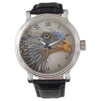 Relógio De Pulso O pássaro vermelho do papagaio