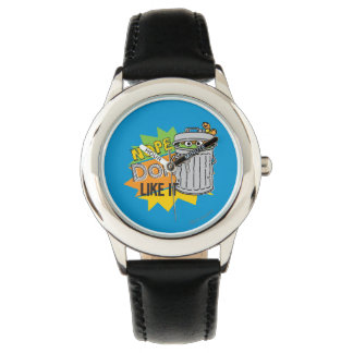 Relógio De Pulso Oscar que o Grouch não gosta