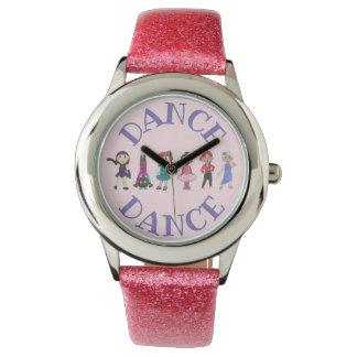 Relógio De Pulso Presente do considerando da dança do jazz da
