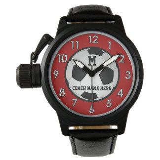 Relógio De Pulso Presentes personalizados monograma do treinador do