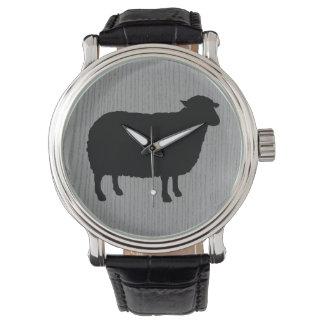 Relógio De Pulso Silhueta das ovelhas negras