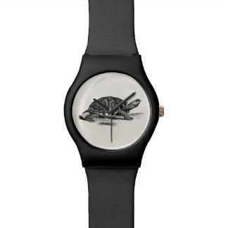 Relógio De Pulso Tartaruga de caixa americana do vintage - modelo