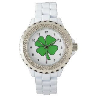 Relógio De Pulso Trevos irlandeses