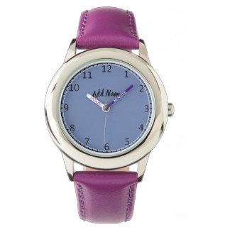 Relógio de pulso vazio da cara do relógio