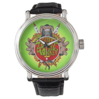 Relógio do macaco do zombi do assassino