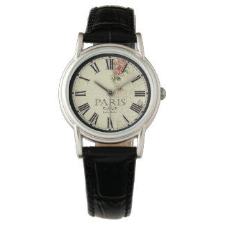 Relógio do mercado da flor de Paris