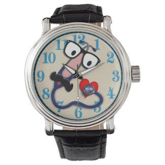 Relógio do pediatra/enfermeira