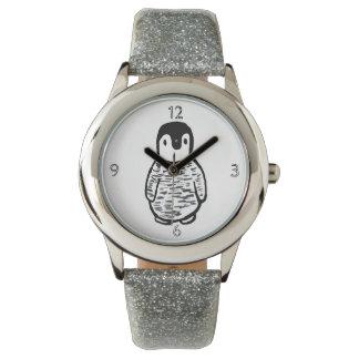 relógio do pinguim