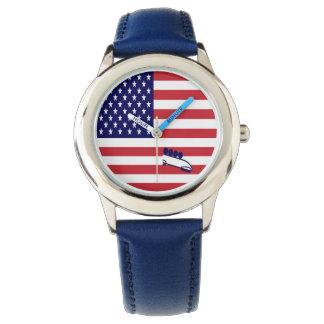 Relógio Equipe Boblsed EUA