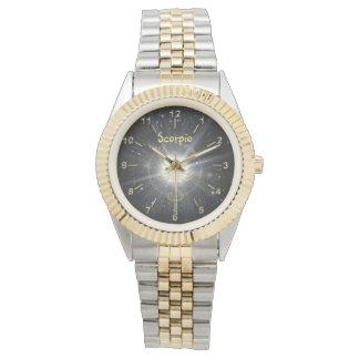 Relógio Escorpião brilhante
