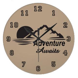 Relógio Grande A aventura espera o excelente da natureza fora
