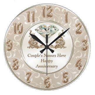 Relógio Grande ALGUNS presentes personalizados lindos do