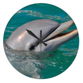Relógio Grande Ascendente próximo do golfinho