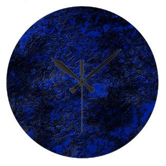 Relógio Grande Azuis cobaltos