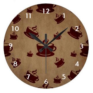 Relógio Grande Café do vintage