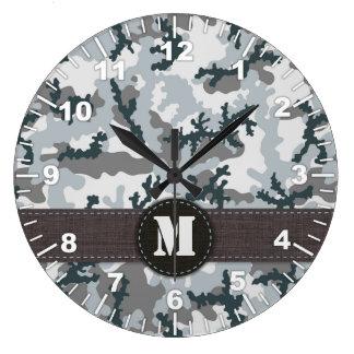 Relógio Grande Camuflagem urbana
