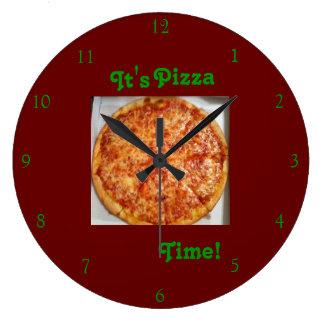 Relógio Grande É tempo da pizza! Pulso de disparo