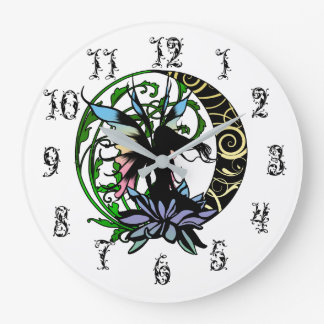 Relógio Grande Fada da sombra de Lotus