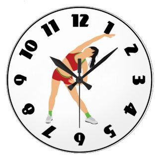 Relógio Grande Gymnast que aquece o pulso de disparo