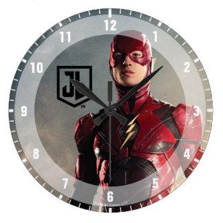 Relógio Grande Liga de justiça | o flash no campo de batalha
