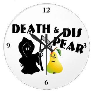Relógio Grande Morte & pera do Dis