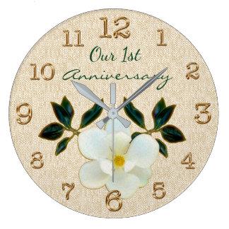 Relógio Grande Nosso ø pulso de disparo do aniversário ou SUA