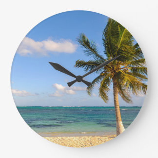 Relógio Grande Palmeira e praia