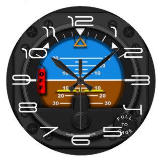 Relógio Grande Piloto da linha aérea