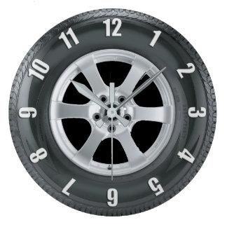 Relógio Grande Pulso de disparo da arte dos camionistas do