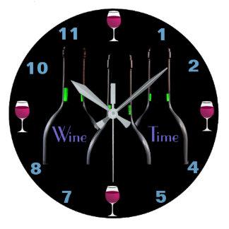 Relógio Grande Pulso de disparo da cozinha do tempo do vinho